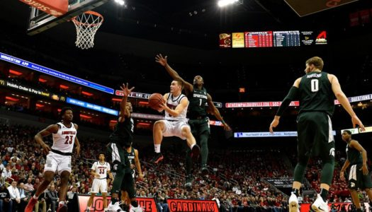 """""""Focus of the Night"""" : #9 Michigan State tombe à Louisville"""
