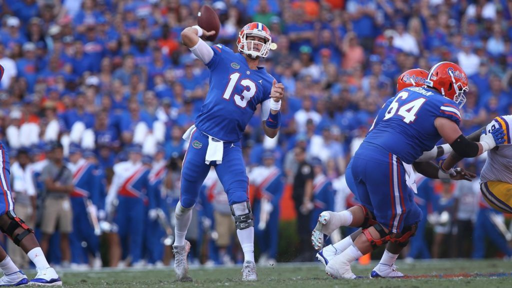 Feleipe Franks Florida QB 2018