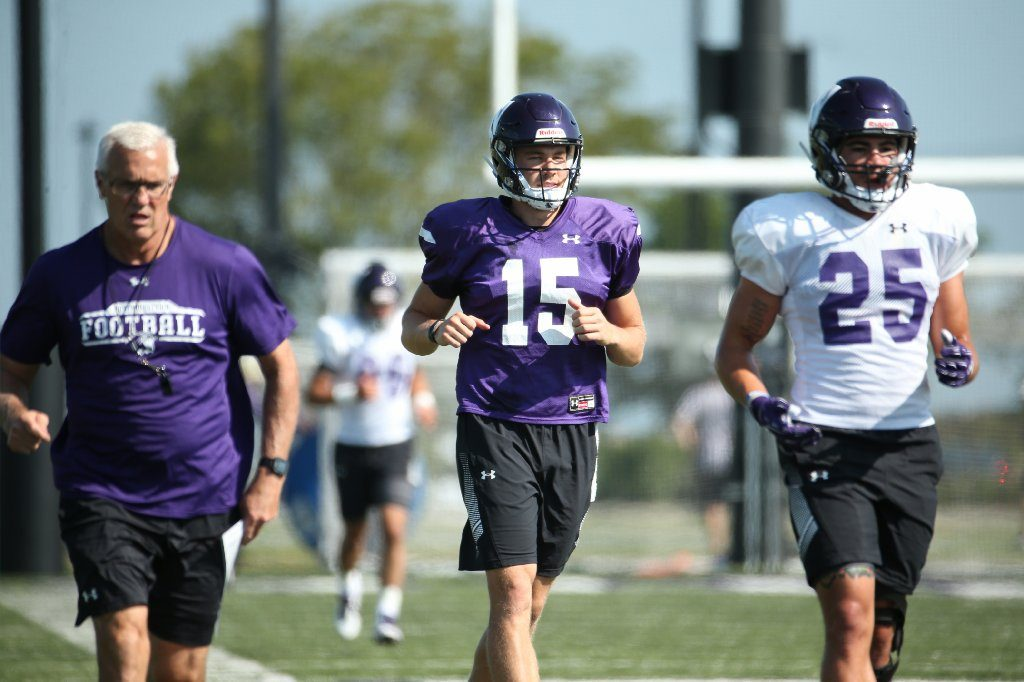 Hunter Johnson QB Transferts Northwestern