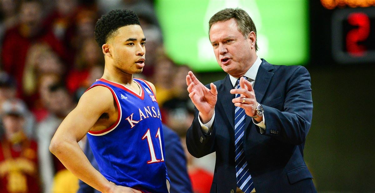Devon Dotson Bill Self Kansas