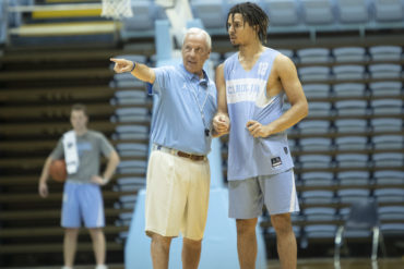 Cole Anthony Roy Williams UNC ACC