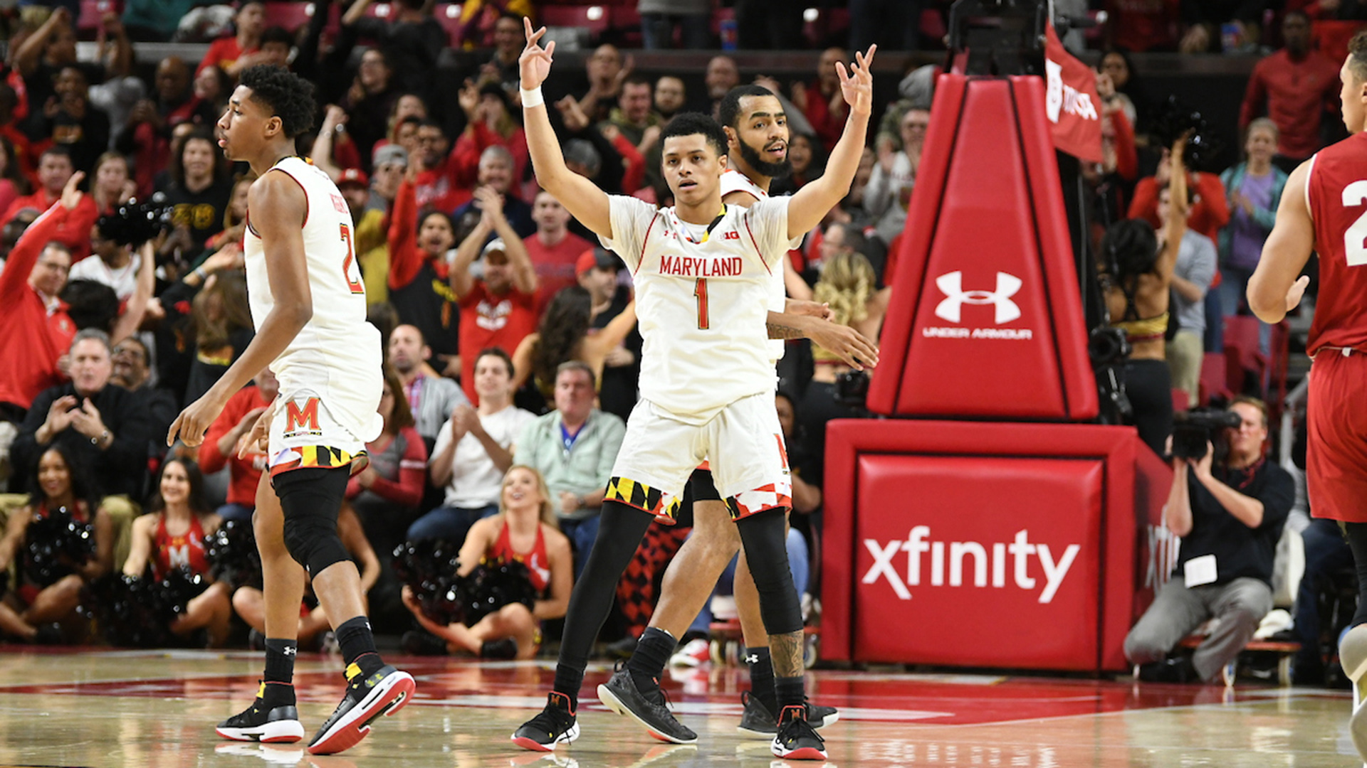 Anthony Cowan Maryland Big Ten 2018-19