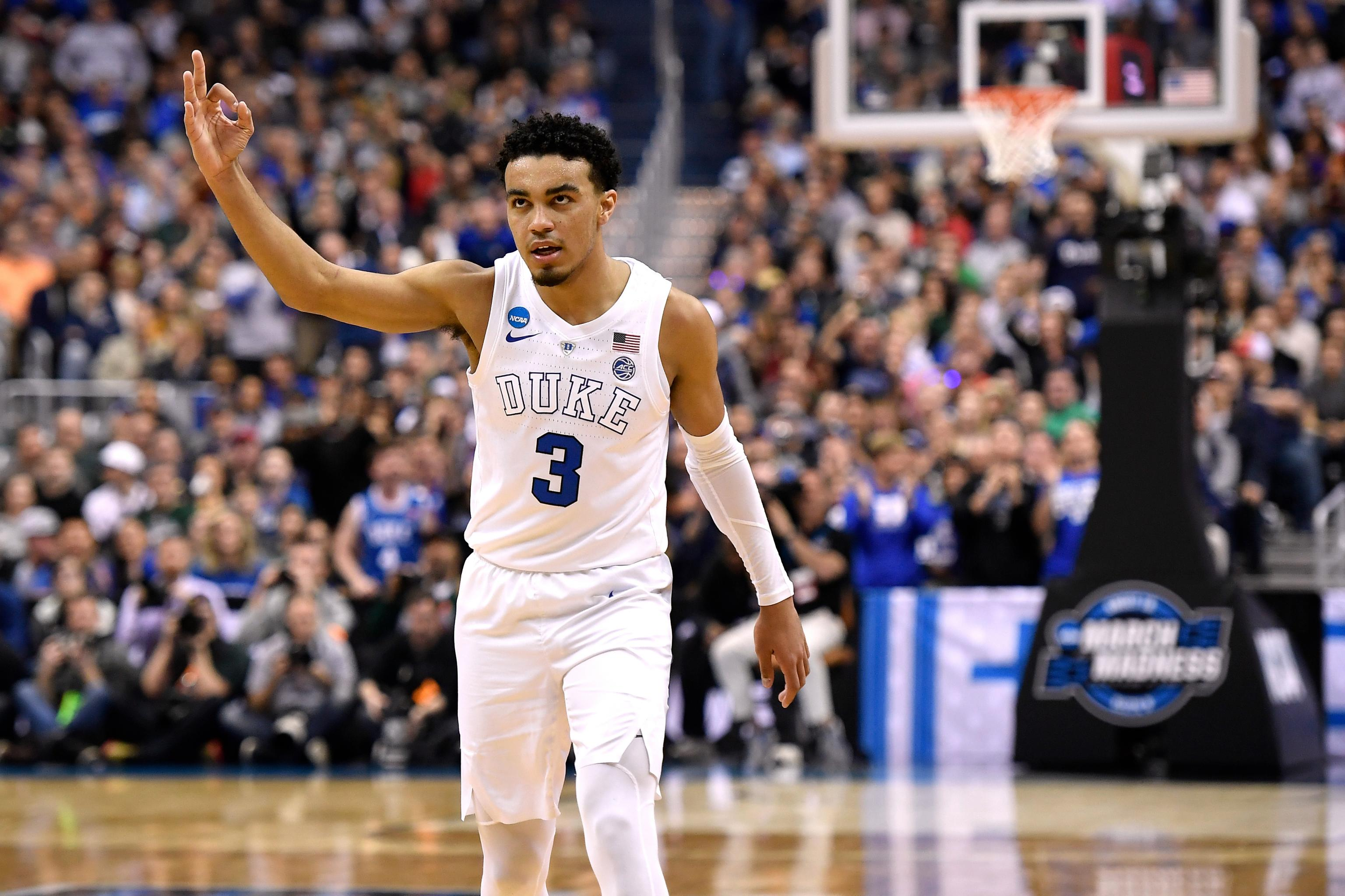 Tre Jones Duke March Madness 2019