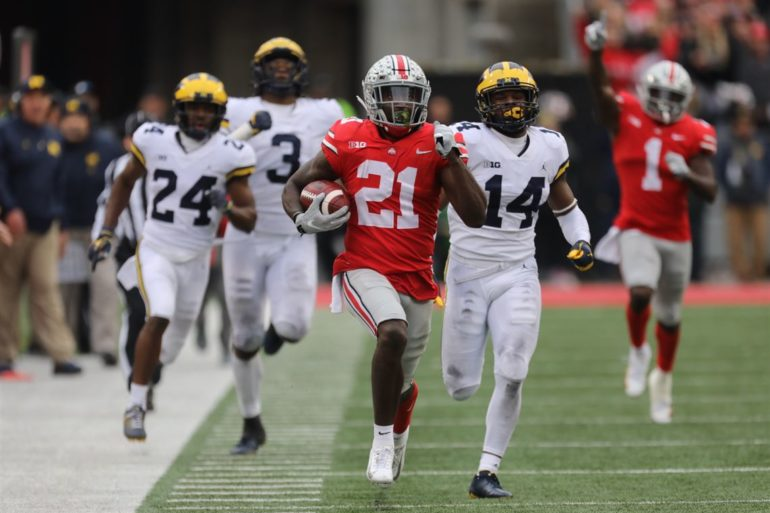 Parris Campbell Ohio State vs Michigan The Game 2018