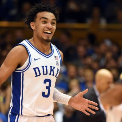 Tre Jones Duke vs Georgia State Week 2 2019