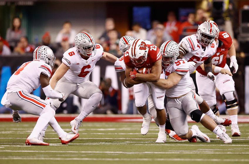 Ohio State Front Seven vs Wisconsin Big Ten Championship 2019