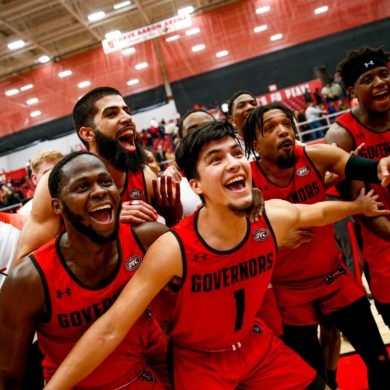 Austin Peay Governors vs Murray State Celebration 2020