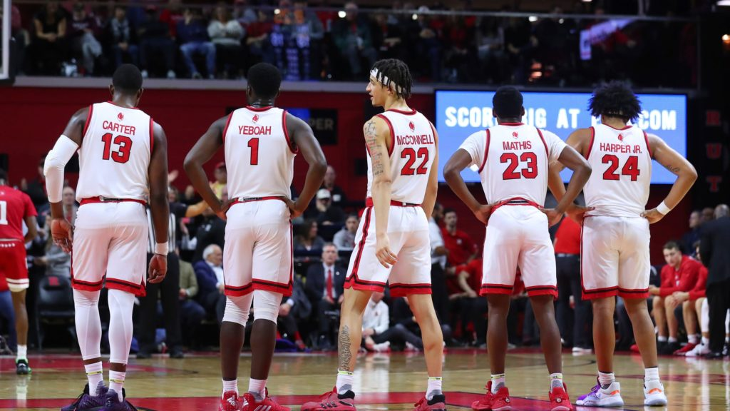 Rutgers Scarlet Knights Equipe Huddle 2020