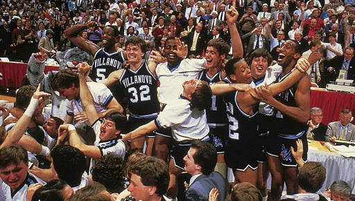 Villanova Wildcats vs Georgetown Hoyas National Championship March Madness 1985