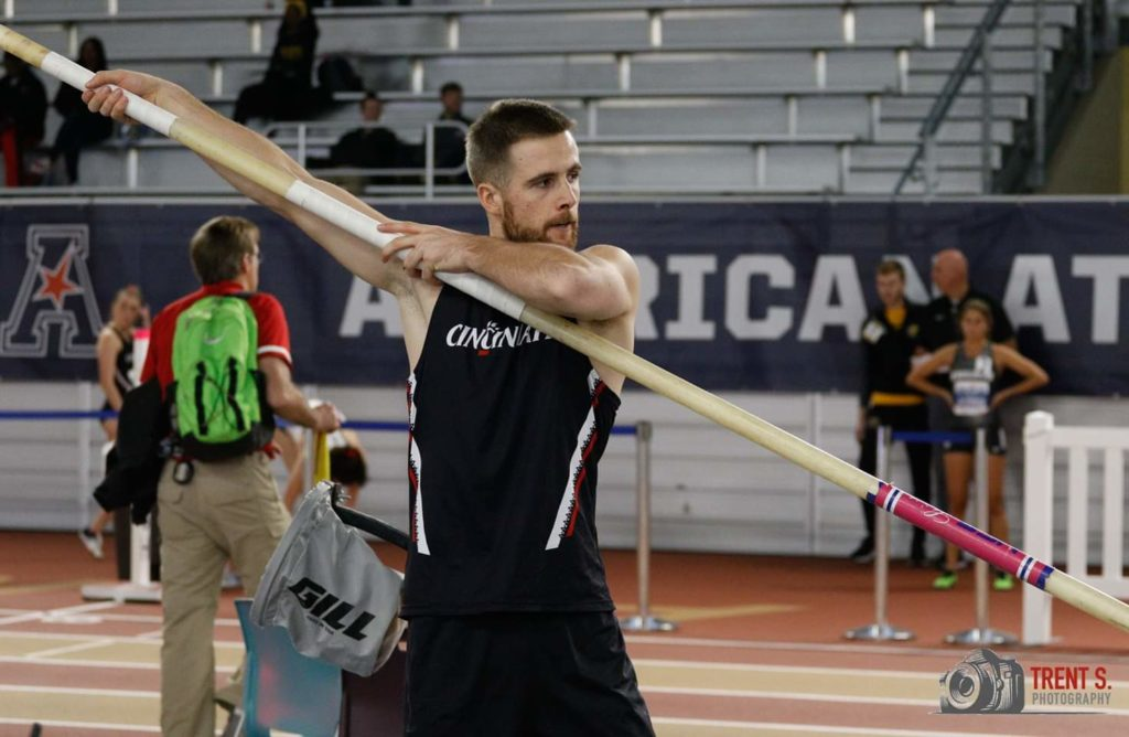 Damien Berthenet Cincinnati Athlétisme Heptathlon Indoor 2020