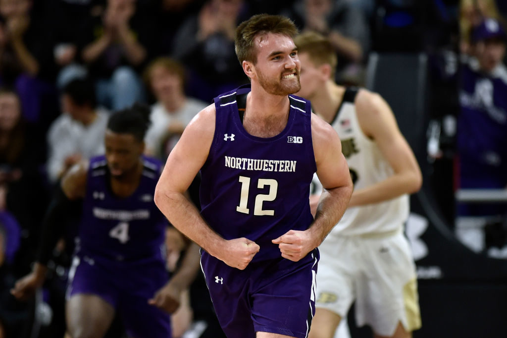 Pat Spencer Northwestern Wildcats vs Purdue Big Ten 2020