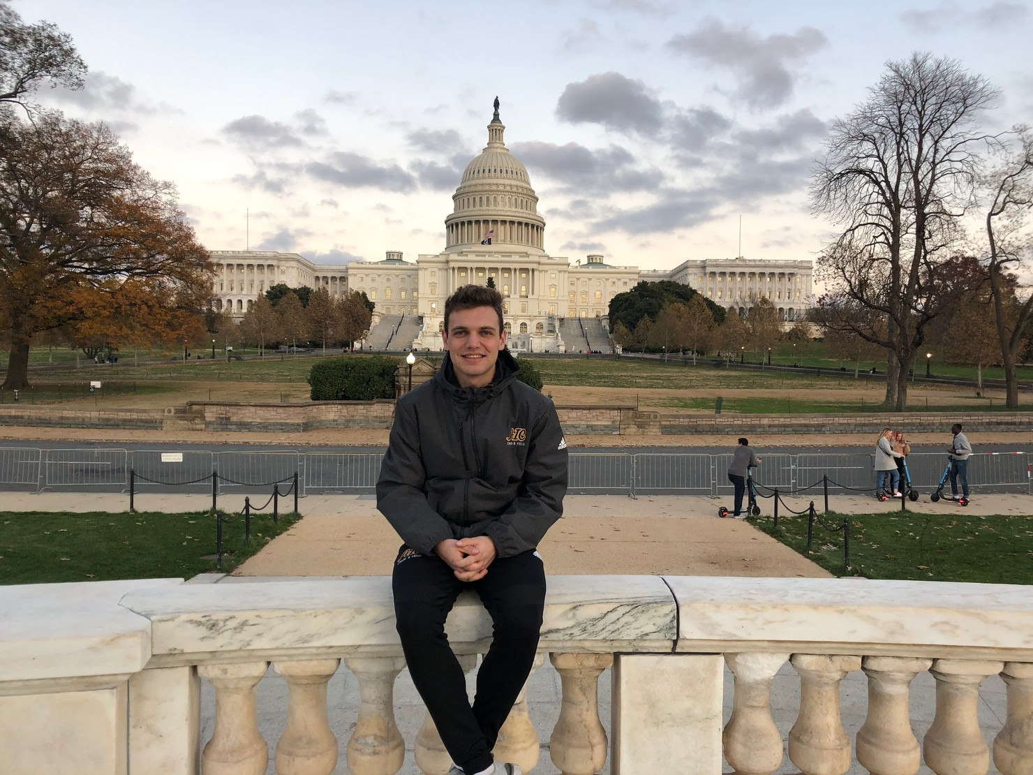 Clément Paillon American International College Track and Field 2020