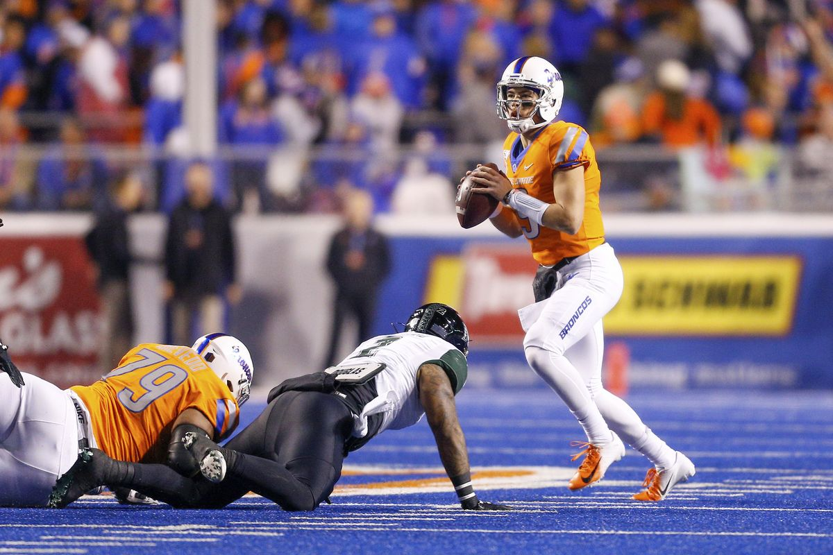 Hank Bachmeier Boise State Broncos vs Hawaii 2019
