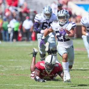 Deuce Vaughn RB Kansas State Wildcats vs Oklahoma Week 4 2020