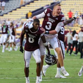 K.J. Costello QB Mississippi State Bulldogs vs LSU Week 4 2020
