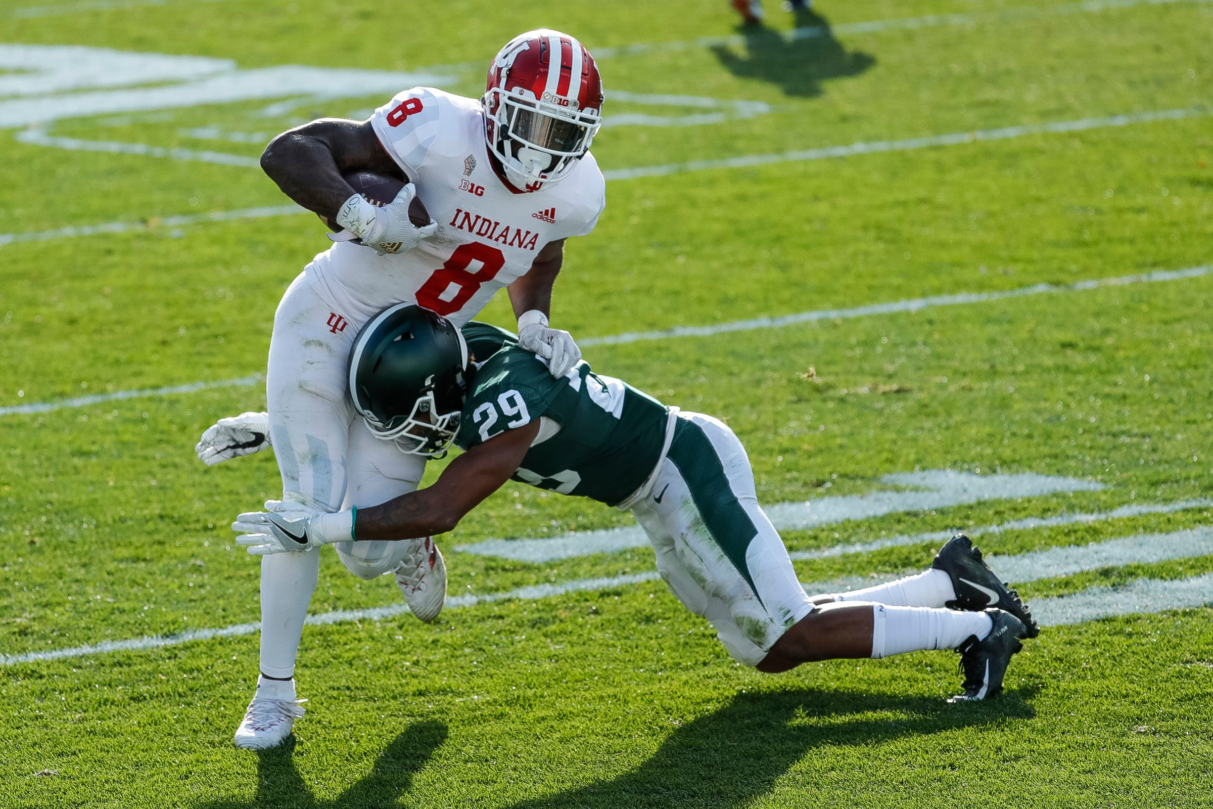 Stevie Scott III RB Indiana Hoosiers vs Michigan State Week 11 2020