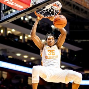 Yves Pons Tennessee Volunteers Dunk 2019
