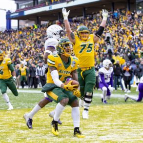 Phoenix Sproles North Dakota State Bison vs James Madison FCS Playoffs Championship Game 2019
