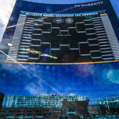 NCAA Tournament Bracket Marriott Indianapolis 2021
