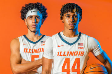 Andre Curbelo Adam Miller Freshmen Illinois Fighting Illini 2021