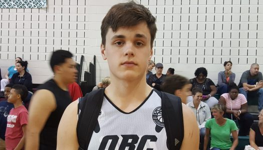 Direction Notre Dame pour Robby Carmody (#95, 2018)