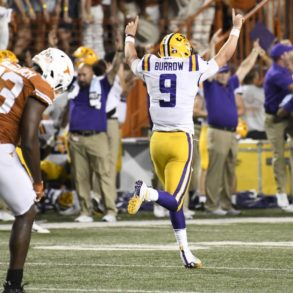 Joe Burrow LSU QB Texas 2019