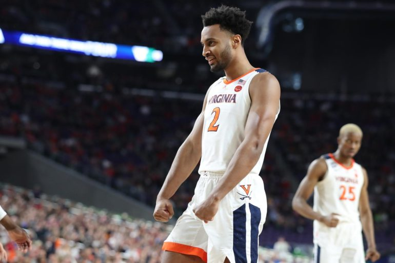 Braxton Key Virginia vs Auburn March Madness 2019