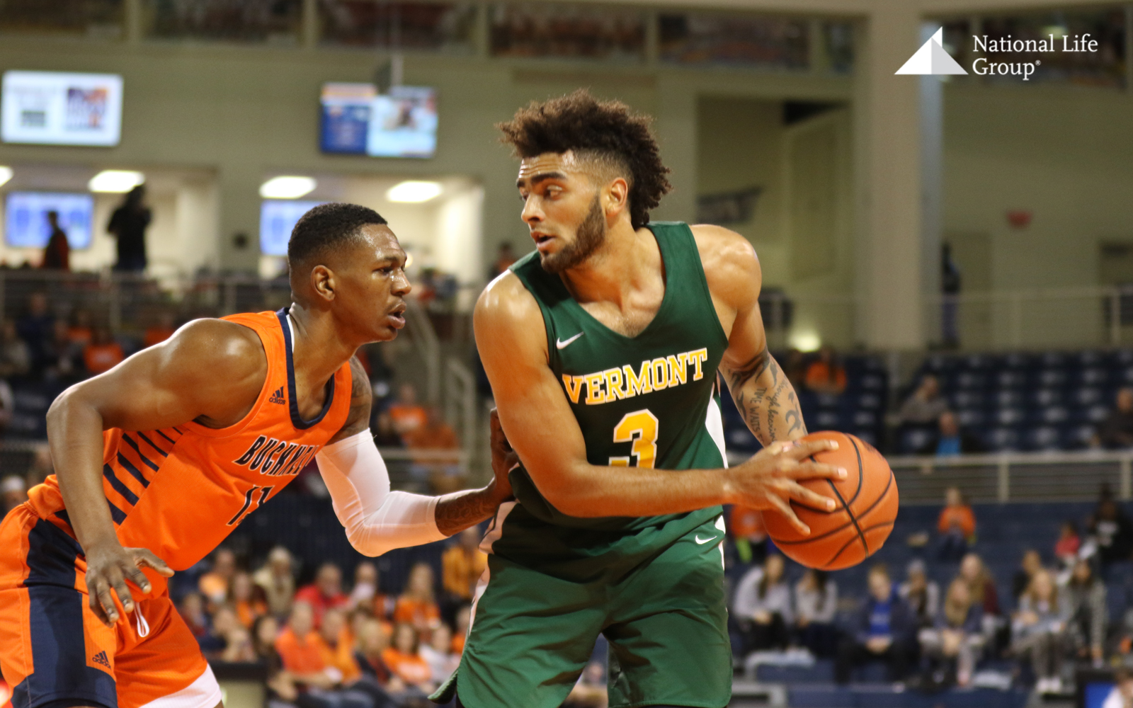 Anthony Lamb Vermont vs Bucknell Mid-Majors Week 1 2019
