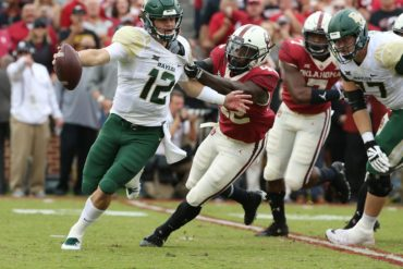 Charlie Brewer Baylor vs Oklahoma Week 5 2018