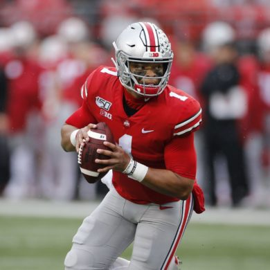 Justin Fields Ohio State vs Wisconsin 2019