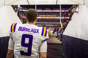 Joe Burrow QB Senior Day LSU vs Texas A&M 2019