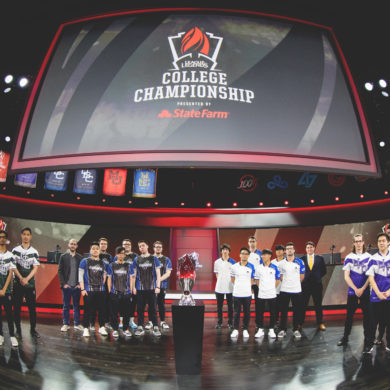 League of Legends College Championship Teams 2019