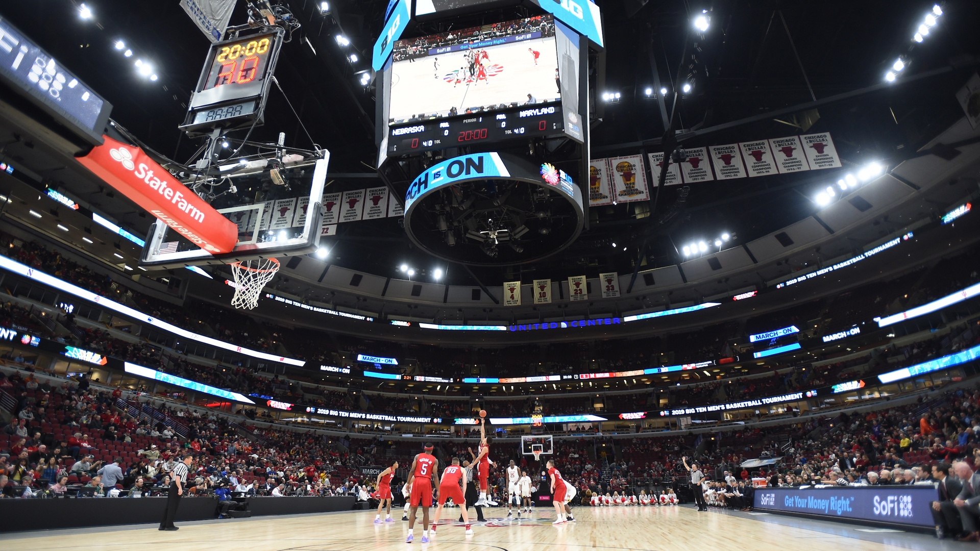 Maryland vs Nebraska Basketball Big Ten Tournament 2019