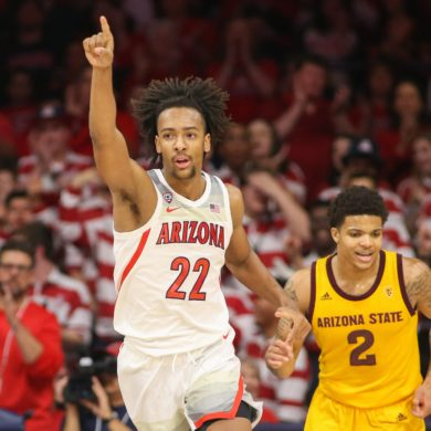 Zeke Nnaji Arizona vs Arizona State 2020