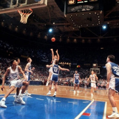 Christian Laettner Duke Blue Devils Kentucky The Shot Elite 8 1992