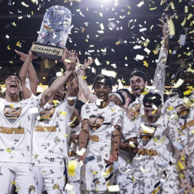 Northern Kentucky Champion Célébration Horizon League 2020