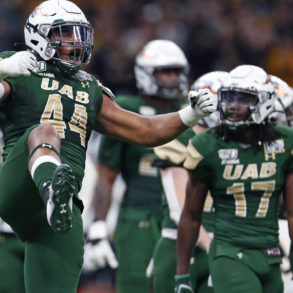 Antonio Moultrie UAB Blazers New Orleans Bowl vs Appalachian State 2019