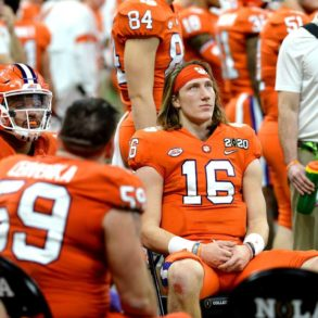 Trevor Lawrence QB Clemson Tigers CFP Championship Game 2020 vs LSU