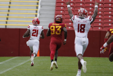 Chris Smith Kickoff Return Louisiana Ragin' Cajuns vs Iowa State Week 2 2020