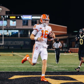 Trevor Lawrence QB Clemson Tigers vs Wake Forest Week 2 2020