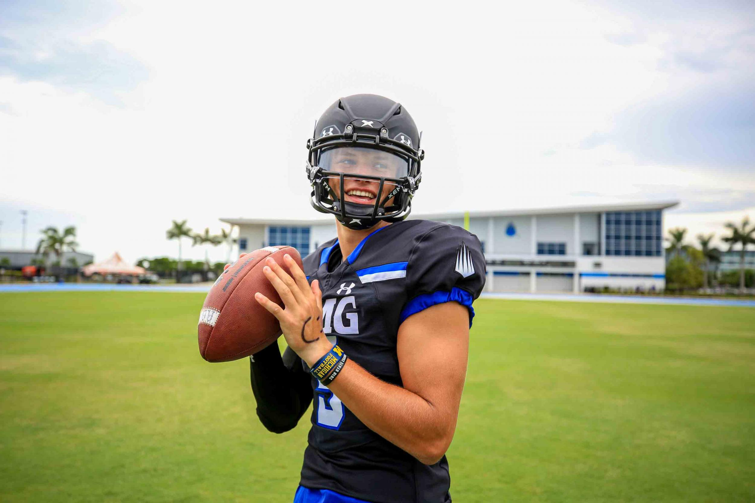J.J. McCarthy QB IMG Academy High School Football 2020