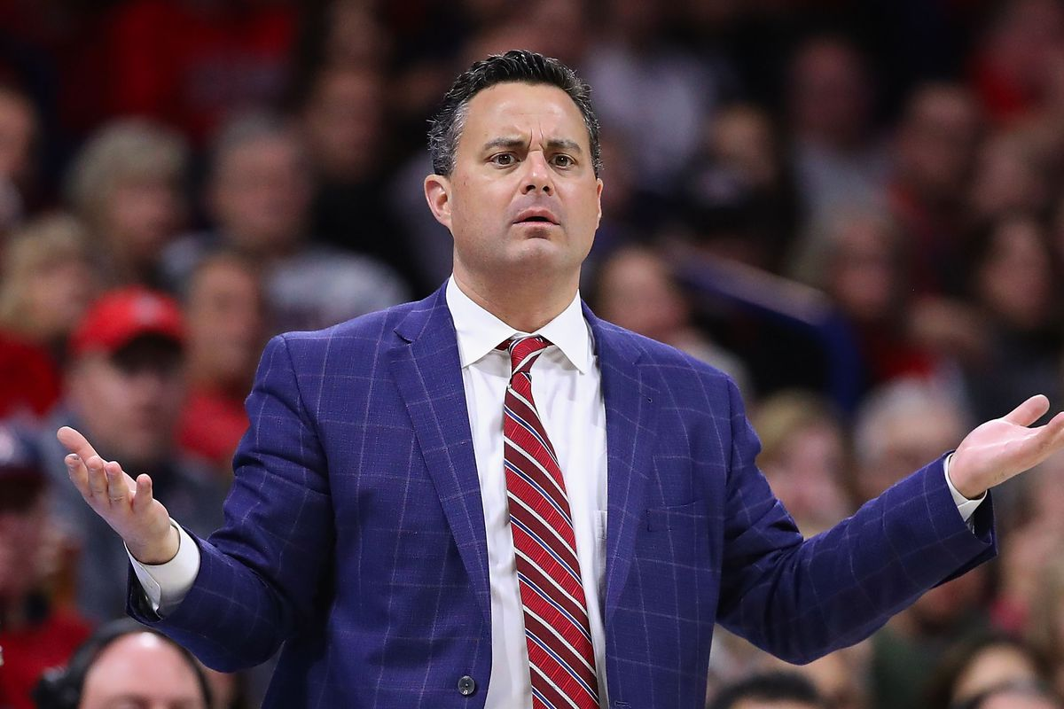Sean Miller HC Arizona Wildcats Sideline 2019