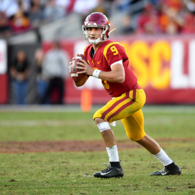 Kedon Slovis QB USC Trojans vs UCLA Rivalry 2019