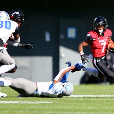 Tre Tucker RB Cincinnati Bearcats vs Memphis Week 9 2020