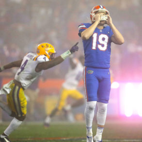 Evan McPherson Kicker Florida Gators vs LSU Week 15 2020