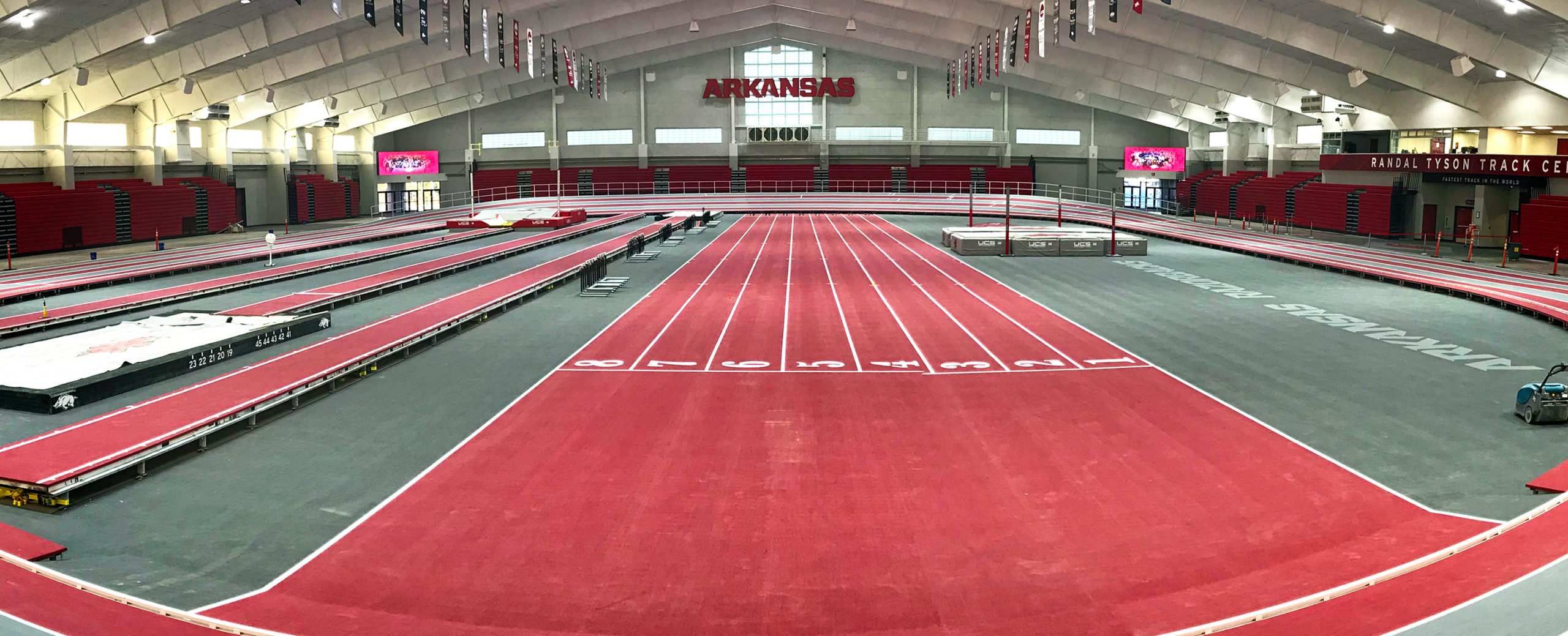 Athlétisme Indoor Arkansas Razorbacks