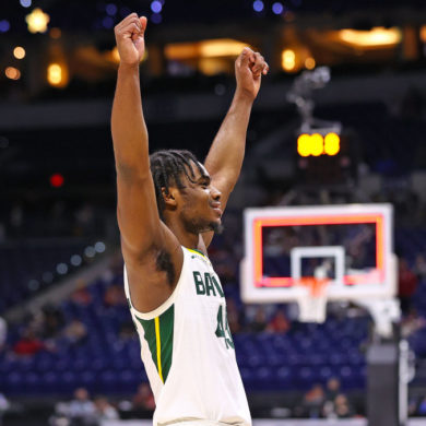 Davion Mitchell Baylor Bears vs Arkansas Elite 8 March Madness 2021