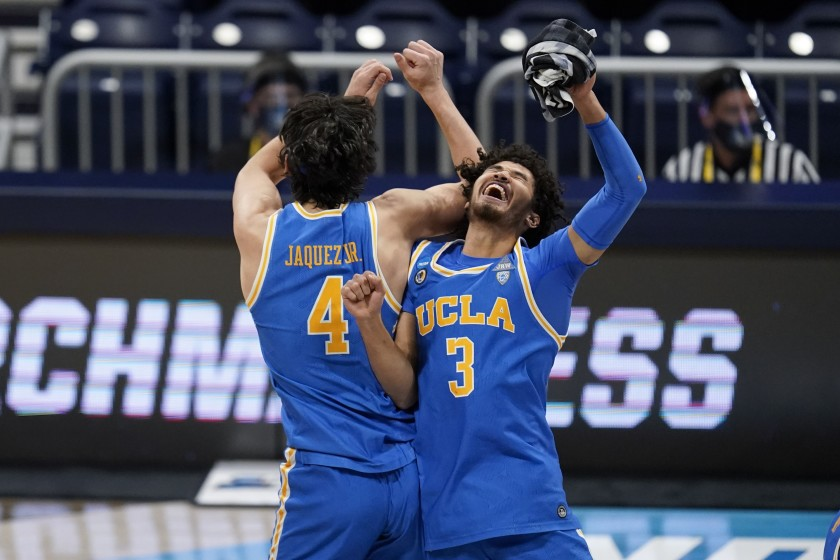 Johnny Juzang Jaime Jaquez Jr. UCLA Bruins March Madness 2021