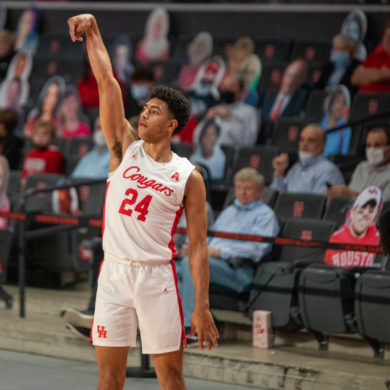 Quentin Grimes Houston Cougars vs Tulsa 2021